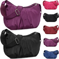 Fashion Ladies Nylon Light Weight Cross Body Messenger Bag Women Shoulder Tote S