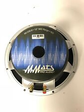 "MMATS Pro Audio PA1230.8 12"" Woofer SVC 8 Ohm - Brand NEW"