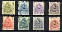 Sellos de España 1912 nº 47/54 Telegrafos Alfonso XIII Nuevos stamps