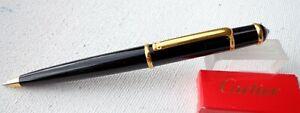Cartier Mini Diabolo black - gold ballpoint pen, no BOX