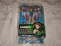 SOTA Capcom Street Fighter Round 2 Blue Cammy Action Figure