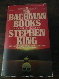 The Bachman Books by Stephen King 1986 Paperback RAGE LONG WALK Vintage OOP HTF