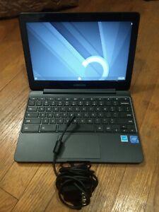 "SAMSUNG CHROMEBOOK XE500C13 CELERON 1.6GHZ 2GB 16GB 11.6"" NOTEBOOK W/ AC"