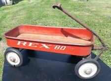 "Vintage REX ""80"" Toy Wagon"