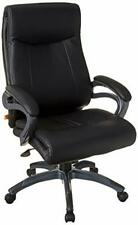Boss Office Products B8661 Double Layer Executive Chair In Black