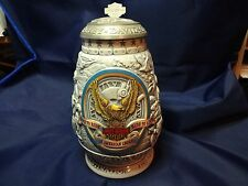 HARLEY DAVIDSON LIMITED EDITION YEAR 2000 TANKARD WITH ORIGINAL PAPERWORK EC