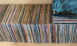 Lot of 67 vinyls (LP-33 rpm) from about 1960-1990