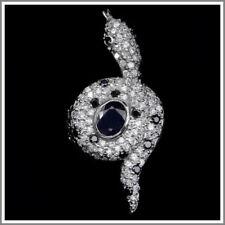 Zircon Sapphire Sterling Silver Fine Rings