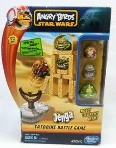 NEW Angry Birds Star Wars Jenga Tatooine Battle Game by Hasbro