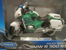 BMW R 1100 RT Polizei grün Motorrad 1:18 *NEU*