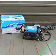 Mini amoladora de banco 75 mm, 120 W Amoladora y pulidora versátil  268953