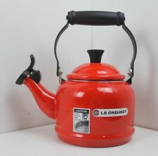 Le Creuset Traditional Whistling Stove Top Kettle 1.1L Red/Cerise/Cherry
