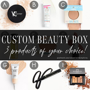 *CUSTOM BEAUTY LOT* Makeup & Skincare Samples of Your Choice! Ipsy Sephora Play