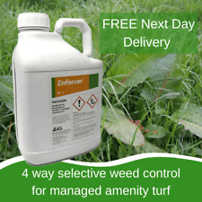 Enforcer 5L SELECTIVE LAWN WEED KILLER TREATS 6,000M2 KILLS ALL WEEDS