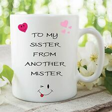 Funny Novelty Mug Adult Humour Sister Best Friend Birthday Cup Gift WSDMUG147