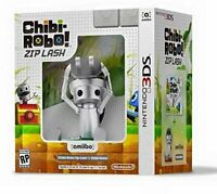 Chibi-Robo!: Zip Lash with Chibi-Robo amiibo bundle (Nintendo 3DS) BRAND NEW