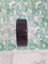 Acrylic Lucite Classic Great Condition J.Crew Bangle Bold Wide Black