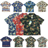 BOB DONG Summer Men Hawaiian Shirts Beach Party Cuban Collar Short Sleeve Aloha
