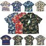 BOB DONG Summer Men Hawaiian Shirts Beach Party Cuban Collar Short Sleeve Aloha