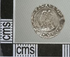 Great Britain England Elizabeth I Penny Silver Hammered Coin 1560-1 mm Martlet