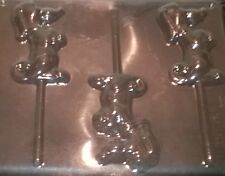 BEGGING PUPPY CHOCOLATE LOLLIPOP MOULD