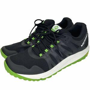 MERRELL Nova 2 Trail Low Boulder Light Running Shoes Mens US 13 EUR 48 Black EUC