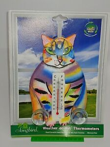 New WEATHER THERMOMETER OUTDOOR WINDOW WEATHER OR NOT - VARIOUS