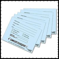 100 School Money Envelopes for sending money into school for Dinner,Trip, Milk,
