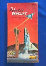 Aurora 1/48 Ryan X-13 Vertijet - Original EXTREMELY RARE 1957 International Box