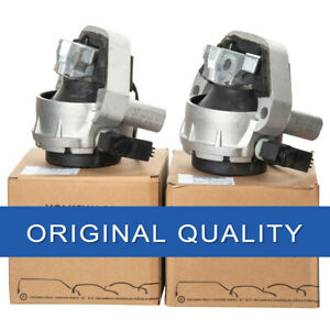 Pair of Genuine Engine Mounts L&R Side For Audi A6 A7 Quattro 3.0T 2012-2018 4G0