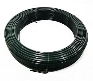 3.1mm Thick PVC Coated Galvanised Steel Tension Straining Binding Fencing Wire