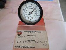 """Marsh J0252 Dial Gauge 1-1/2"""" Face 0-160 P.S.I. 1/8"""" NPT NEW!!! in Box Free Ship"""