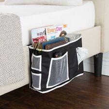 Bedside Storage Organizer Holds Remotes Books Phones Caddy 6 Pockets