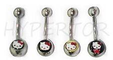 ideal revendeur !! lot de 16 piercing nombril style  hello kitty neuf