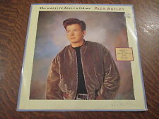 maxi 45 tours rick astley she wants to dance with me