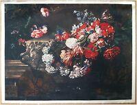 Edizioni Beatrice D'Este n.1281 -  Fiori - Flowers - Stampa su Seta - Print silk