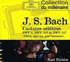 Karl Richter - Bach J S: Cantates Celebres BWV 4 202 & 147 [New CD]
