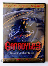 Amazing Disney Channel Cartoon Series Gargoyles The Complete First Season DVD