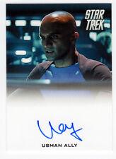 Star Trek Movies Into Darkness Usman Ally as USS Vengeance Bridge Officer