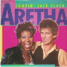 "ARETHA FRANKLIN (KEITH RICHARDS) - Jumpin' jack flash - 7"" MINT"