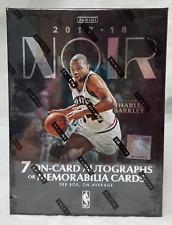 2017-2018 Panini Noir Basketball NBA Sealed Hobby Edition Box