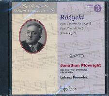 Jonathan Plowright Rozycki Piano Concerto No 1 Op 43 No 2 Ballade Op 18