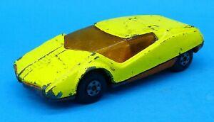 1973 Matchbox Datsun 128X Diecast Vehicle Toy