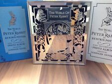 The World Of Peter Rabbit By Beatrix Potter Fine Silver Plate Photo Album