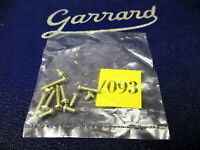 GARRARD CARTRIDGE MOUNTING SCREWS  SIX PAIRS OF DIFFERENT LENGTH SCREWS UK--BSA