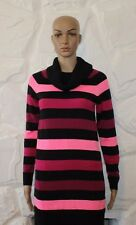 Colorful Striped Knitted H & M Long Sleeve Bodycon Sweater Jumper Size 170