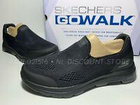 USED SKECHERS Men's Go Walk Air Cooled Ultra Go Cushioning Shoes ~ Black ~ 12