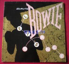 Disques vinyles années 80 pour Pop David Bowie