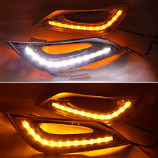 LED DRL for Hyundai Sonata 2011-2014 Daytime Running Light Turn Signal 3 Colors