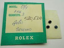 GENUINE ROLEX CAL. 520,530 OSCILLATING WEIGTH ROTOR SCREW NEW WATCH PART 3416